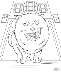 Small Picture Goosebumps Horrorland Coloring Page Free Printable Coloring