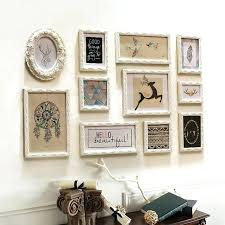white pieces vintage frame photo al home decor frames wall decoration wooden picture old uk