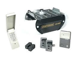 craftsman assurelink garage door opener app 1 2 hp remote exterior d