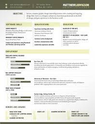 resume template designs   graphics   resume layout    best web designer resume examples