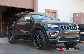 22×10 Lexani R12 Gloss Black Milled on 2014 Jeep Grand Cherokee w ...