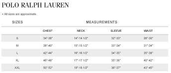 Polo Boxers Size Chart De Tag Ralph Polo Size Chart Waldon Lauren Shirt Protese