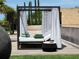 outdoor canopy daybed with mattress for decor 1