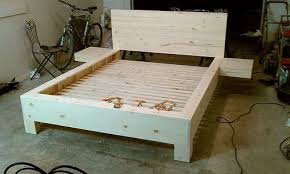 Platform bed with floating nightstands King Diy Platform Bed With Floating Nightstands Pinterest Diy Platform Bed With Floating Nightstands Diys Pinterest Diy