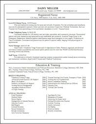 Nursing School Resume Examples Examples Of Resumes