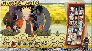 Naruto Shippuden Ultimate Ninja Storm Legacy Mod Textures PPSSPP Free  Download & PPSSPP Setting - Free Download PSP PPSSPP Games, Android Games