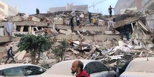 İzmir'de 6,9 büyüklüğünde deprem, arama kurtarma çalışmaları sona erdi: 115  can kaybı