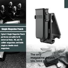 Single Stack Magazine Holder Universal Single Magazine Pouch Cytac Polymer Magazine Pouches 44