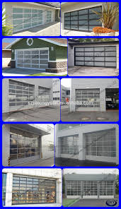 folding garage doors. Frosted Glass / Clear Plexiglass Automatic Folding Garage Door Doors