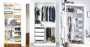 small closet organizers brilliant storage ideas of 9 for closets with systems decor 6