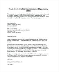 Professional Thank You Letter For Interview – Bonniemacleod