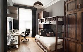 home office bedroom. Small Bedroom With Bunk Beds And Home Office I