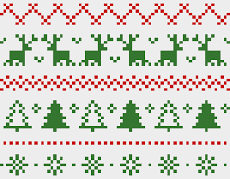 Christmas Fair Isle Craft Design Online
