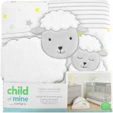 carter s child of mine sheep family 3 piece crib bedding set com