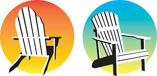 Royalty Free Beach Chairs Clip Art Vector Images Illustrations