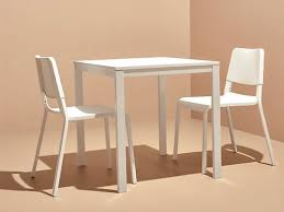 teodores vangsta table and 2 chairs white white