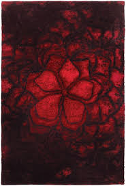 east urban home red area rug