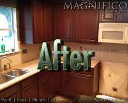 Pickled Maple Kitchen Cabinets Builder Grade Oak Cabinets Refinished Converted From Pickled Oak