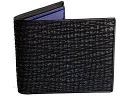 shark skin wallet
