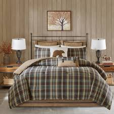 Woolrich Hadley Plaid Multi Comforter Mini Set - Free Shipping On ... & Woolrich Hadley Plaid Multi Comforter Mini Set Adamdwight.com
