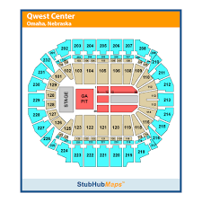 Chi Center Omaha Seating Chart Chi Health Center Formerly Centurylink Center Events And