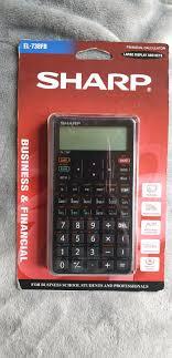 Financial Calculator Brand New Sharp Financial Calculator Durbanville Gumtree Classifieds South Africa 573656238