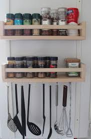 Wooden Magazine Holder Ikea Remodelaholic 100 Ways To Use IKEA Bekvam Spice Racks At Home 94