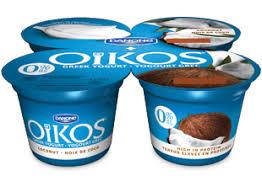 greek yogurt oikos 0 coconut