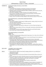 Ncua Accounting Manual Chart Of Accounts Manager Financial Accounting Resume Samples Velvet Jobs