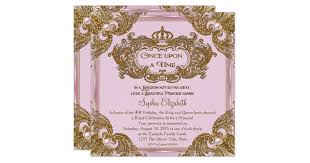 fancy once upon a time birthday party card zazzle com Time In Wedding Invitation Time In Wedding Invitation #33 time lapse wedding invitation