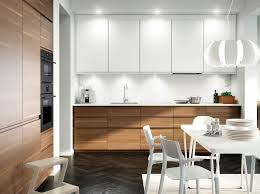 modern white kitchens ikea. A Kitchen With Walnut Effect Doors, White Accent Doors And Worktop. Combined Modern Kitchens Ikea