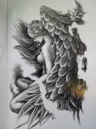 ангелы религия эскизы фото тату татуировки эскизы значение