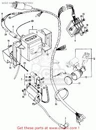 Wonderful trail 90 wiring diagram images electrical system block honda ct90 trail k1 usa wire harnessbattery