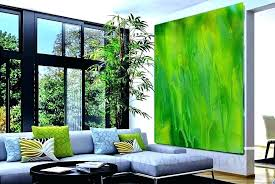 lime green wall art decor abstract painting large canvas print minimalist kitchen pictures for