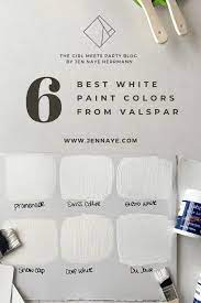 White dove is slightly brighter with a lrv of 85.38 compared to swiss coffee's lrv of 83.93. Best Valspar White Paint Colors Jen Naye Herrmann