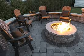 5 tips for pairing outdoor furniture with your fire pit in canton oh unilock
