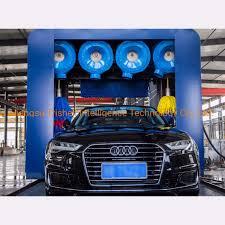 Car Wash Tunnel Design China Tunnel Type Automatic Computer Car Washing Machine Car