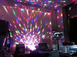 Đèn LED Quả Cầu Cảm Ứng Xoay Pha Lê 7 Màu Nháy Theo Nhạc | Tấn Phát HCM