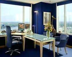 office paint schemes. Color Schemes For Office Blue Paint Wall Design With Cool Windows Modern Space .