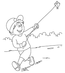Small Picture Flying kite coloring page Download Free Flying kite coloring