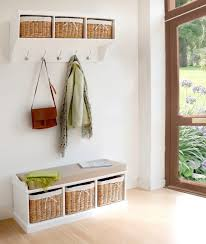 Cubby Wall Organizer With Coat Rack furniture trendy tetbury hallway storage bench and shelf including 37