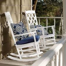 white outdoor rocking chairs cushions bits and pieces for the with regard to outside ideas 12