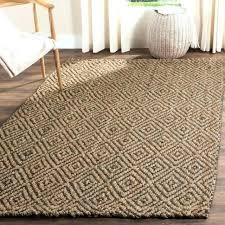 7x9 jute rug gray jute rug casual natural fiber hand woven natural grey jute rug 9