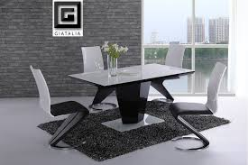 dining table set white gloss chairs