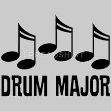drum major marching band gift by homewiseper spreadshirt