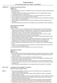 Telecom Engineer Resume Sample Telecom Engineer Resume Samples Velvet Jobs 6