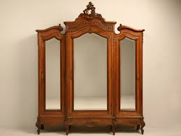 wood antique furniture armoire