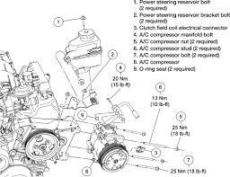 schematics and diagrams ac and heater components location diagram a c compressor view 4 0l engine