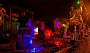 Small Picture Outdoor Halloween Decoration Craft Ideas On Exterior Design