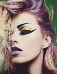 rocker eye makeup punk inspired makeup anja rubik by miguel reveriego for numéro tutorial makeup 70